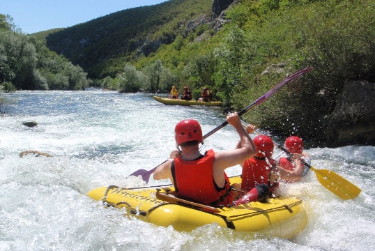 RAFTING ON CETINA RIVER TOUR